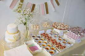 Pink And Gold Dessert Table by Dessert Table Pink White Gold Creme Berry U0027s Blog