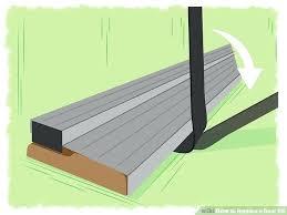 Replacing An Exterior Door Threshold Replace Door Threshold Replace Threshold Exterior Door Choice