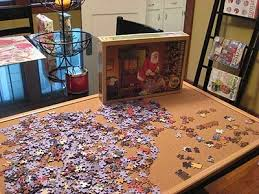 jigsaw puzzle tables portable 15 best jigsaw puzzle stuff images on pinterest puzzle board