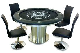 high end poker table tables round quality top modern showing for