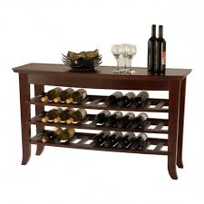 console table wine rack foter table wine rack ongpl home