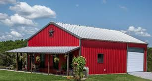 true american dream u2013 metal building barn home w wrap around