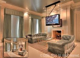 Drop Down Tv From Ceiling by Home Entertainment Accessories That Count Cedia Home Audio Video