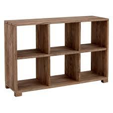 furniture immaculate oak unpolished 6 shelf low bookcase designs