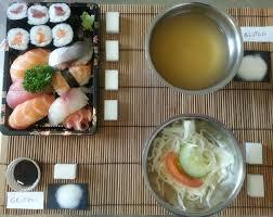 cuisine japonaise calories le restaurant japonais est il diététique