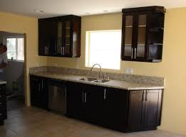 cabinet imposing kitchen backsplash ideas with dark cabinets