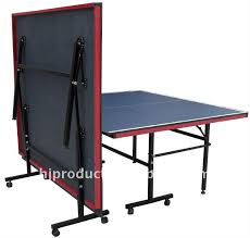 collapsible table tennis table high quality best selling standard size indoor folding table tennis