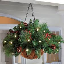 Outdoor Lighted Christmas Decorations Clearance by Grab Hanging Baskets Now On Summer Clearance Sales Add A Few