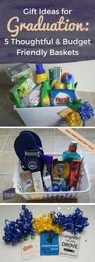 college graduate gift ideas gift ideas for graduation 5 thoughtful budget friendly baskets