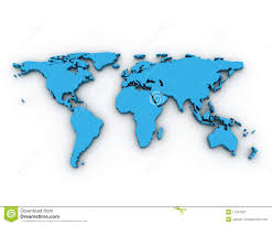 world map stock image 3d world map stock illustration image of phone banking 8213809
