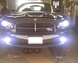 2008 dodge charger lights finally installed my hid fog lights dodge charger forum