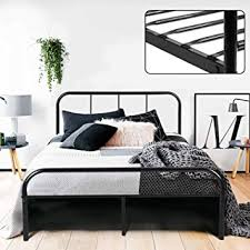 Black Headboards For Double Beds by Double Bed Frame Coavas 4ft 6 Bed Frame With 2 Headboard King Size