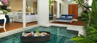 aleva villa romantic private pool villa in legian seminyak bali