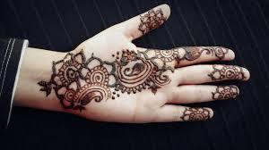 arabic henna strip easy mehendi design for beginners simple