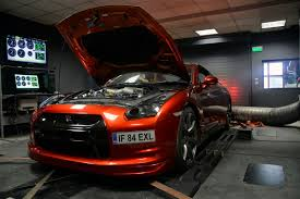 nissan orange this burnt orange nissan gt r is europe u0027s fastest gtspirit