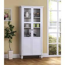 tall narrow bookcase white china cabinet fantastic modern white china cabinet image ideas