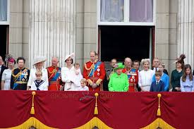 the royal family at buckingham palace for the s official
