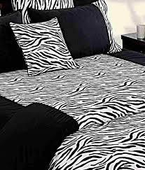 Swayam White N Pink Floral Swayam Black U0026 White Zebra Print Bed Sheet Set Buy Swayam Black