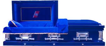 blue casket coast guard casket