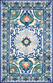 Modern Floral Rug Modern Floral Rug Printed Rugs Rugs Usa