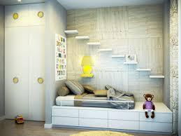 Sle Bedroom Design Modern Bedroom Design With Wall Shelves Room Image And