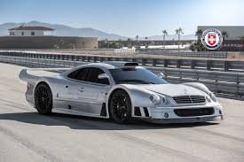 rose gold mercedes mercedes benz clk gtr with hre p103 in satin black hre
