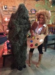 Ghillie Suit Halloween Costume Sister U0027s Husband Wanted Wear Ghillie Suit Halloween