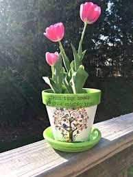 personalized flower pot personalized flower pot greenfain