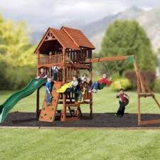 Amazon Backyard Playsets by 19 Best Swing Sets Images On Pinterest Play Sets Swing Sets And