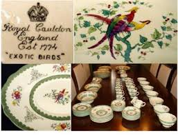 fine china patterns antique china and fine china query royal cauldon exotic birds