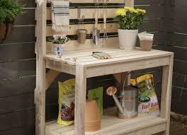 bench excellent garden potting table imposing ideas 10 ideas