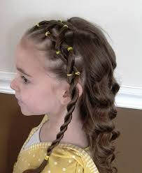 hairstyles for braided hairstyles for kids with curly hair behairstyles com