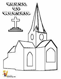 coloring pages for church chuckbutt com
