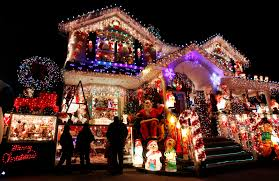 houses decorated for christmas home decorations