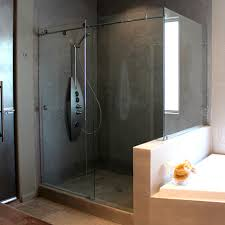 Diy Frameless Shower Doors Frameless Track Shower Doors Cardinal Skyline 90 Degree
