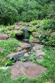 Small Backyard Water Features by Diy Backyard Waterfall Projects Second Photo Using Concrete To
