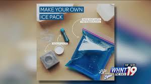 thanksgiving life hacks life hacks homemade ice packs whnt com