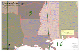 Mississippi State Map La Ms State Plane And Utm U2014 Urban Forest Strike Teams