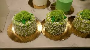 mini lace lime green cakes from publix publix cakes pinterest