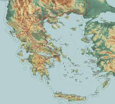 Map Greece by Country Maps Greece
