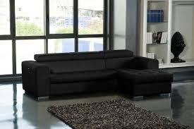 canape angle noir convertible canapé d angle convertible tissu idées de décoration intérieure