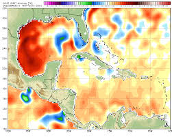Map Of Western Mexico by Gulf Of Mexico Waters Are Freakishly Warm Which Could Mean