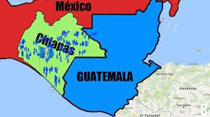 Chiapas Mexico Map by
