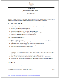Telemarketing Resume Sample by Professional Curriculum Vitae Resume Template For All Job