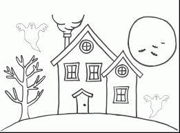 unbelievable house coloring pages dokardokarz net