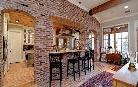 Brick Kitchen Ideas Brick Floor Kitchen Home Design Ideas And Pictures