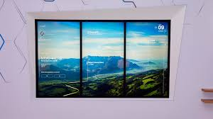 digital window bmw showcases connected window that will help with digital life
