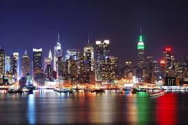 Overview Map Of New York City by Night Tour