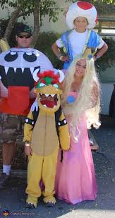 Bowser Halloween Costumes Nintendo Family Halloween Costume