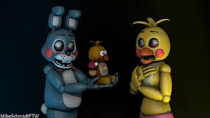 google wallpaper fnaf toy bonnie and toy chica by officerschmidtftw on deviantart